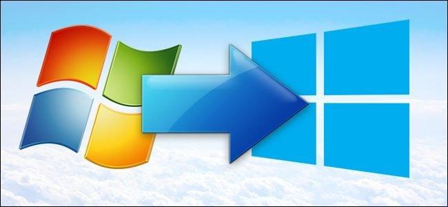 Windows 7 на Windows 10